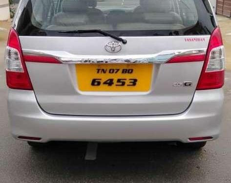 Used 2012 Toyota Innova MT for sale in Coimbatore
