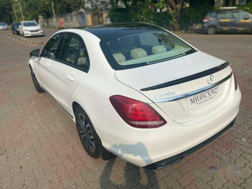 Used Mercedes Benz C-Class 220 2017 AT for sale in Goregaon