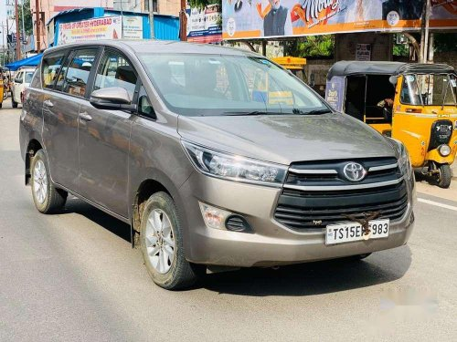 Used 2019 Toyota Innova Crysta MT for sale in Hyderabad