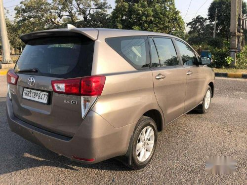 Used 2017 Toyota Innova Crysta MT for sale in Faridabad