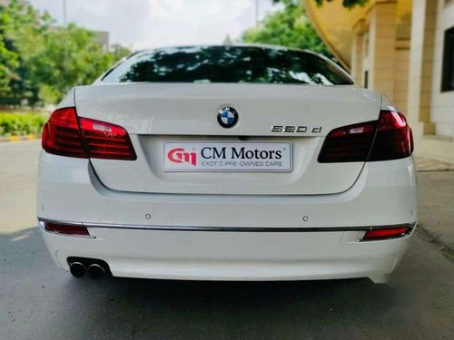 BMW 5 Series 520d Luxury Line 2015 AT for sale in Ahmedabad -0