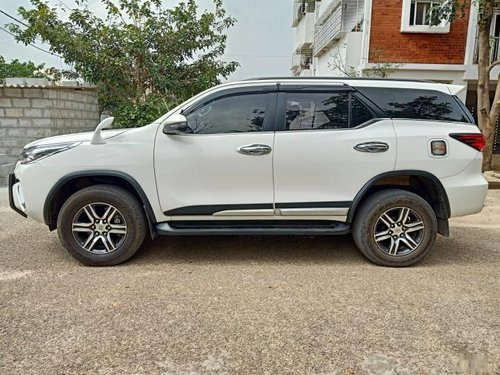 Toyota Fortuner 2017 MT for sale in Bangalore