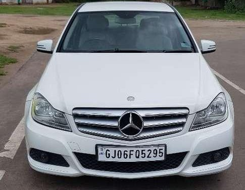 Used Mercedes-Benz C-Class 2013 AT for sale in Vadodara