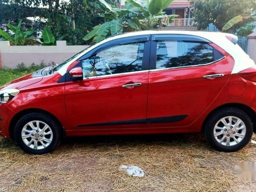 Tata Tiago 1.2 Revotron XZ WO Alloy 2017 MT for sale in Kollam -4