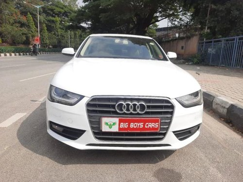 Used Audi A4 2.0 TDI 2013 AT for sale in Bangalore