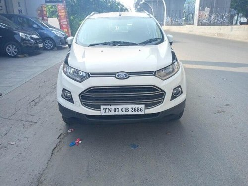 Ford EcoSport 1.5 Petrol Titanium 2015 MT for sale in Chennai-9