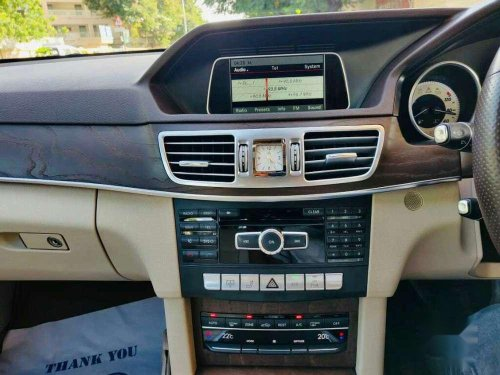 Used 2015 Mercedes Benz E Class AT for sale in Ahmedabad