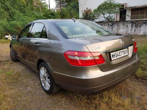 2011 Mercedes Benz E Class AT for sale in Pune