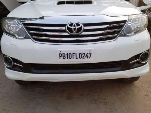 Used 2015 Toyota Fortuner MT for sale in Ludhiana