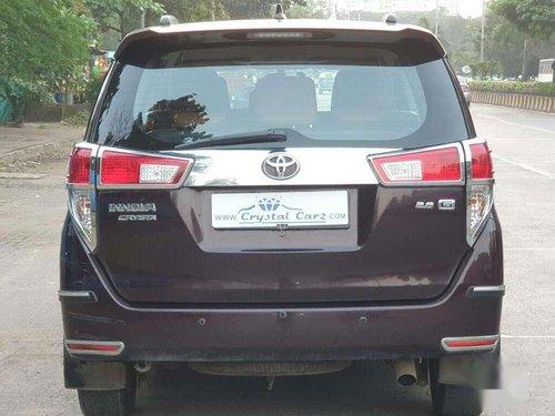 2018 Toyota Innova Crysta MT for sale in Mumbai