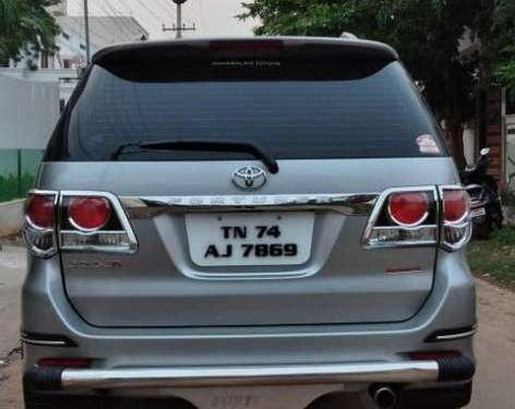 Used 2015 Toyota Fortuner AT for sale in Madurai
