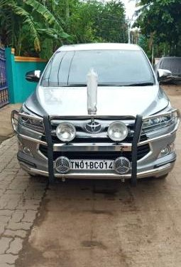2017 Toyota Innova Crysta 2.8 ZX BSIV AT in Chennai