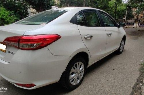 Used Toyota Yaris V CVT 2020 AT for sale in Bangalore