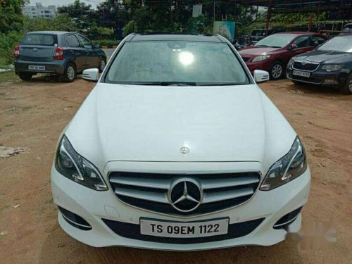 Mercedes Benz E Class 2015 AT for sale in Hyderabad