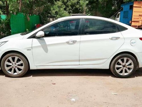 Hyundai Fluidic Verna 2012 MT for sale in Tiruchirappalli-0