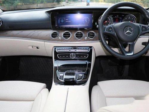 2018 Mercedes-Benz E-Class E 220 CDI Avantgarde AT in New Delhi