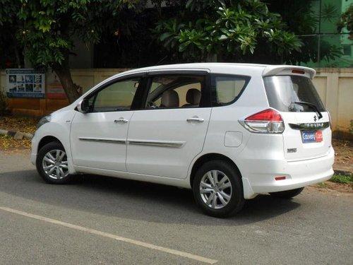 2018 Maruti Suzuki Ertiga ZXI Plus MT in Bangalore