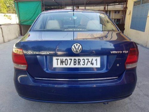 2012 Volkswagen Vento Diesel Highline MT for sale in Chennai