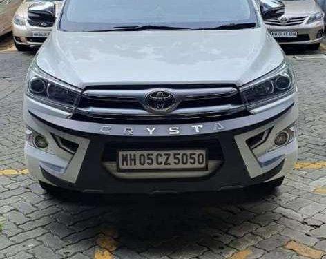 2016 Toyota Innova Crysta MT for sale in Mumbai