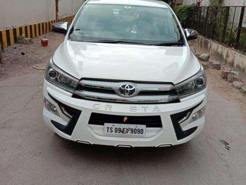 Toyota INNOVA CRYSTA 2.4 ZX, 2017, Diesel MT in Hyderabad