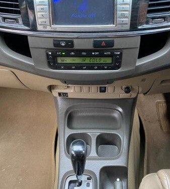 2012 Toyota Fortuner 4x2 4 Speed AT in Madurai