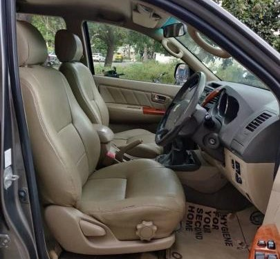 2011 Toyota Fortuner 4x4 MT for sale in Bangalore