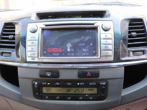 2012 Toyota Fortuner 4x4 AT for sale in Ahmedabad