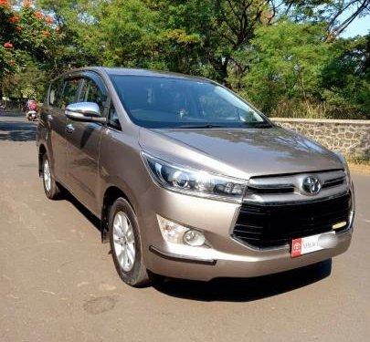 2017 Toyota Innova Crysta 2.4 ZX MT in Nashik