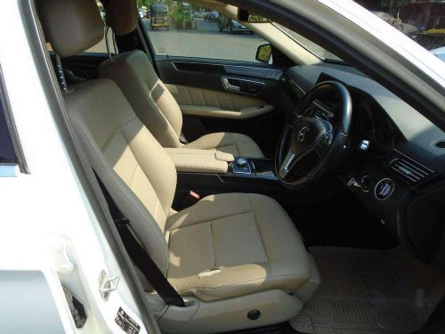2012 Mercedes Benz E Class AT for sale in Mumbai