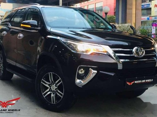Used Toyota Fortuner 2017 AT for sale in Kolkata