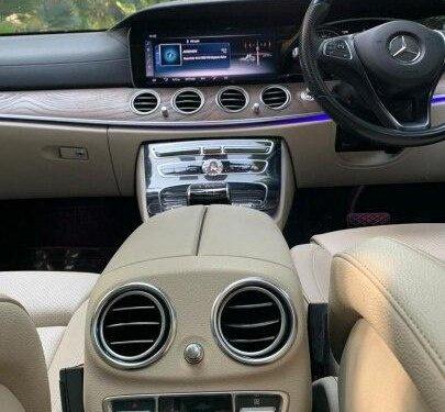 Mercedes-Benz E-Class 220 CDI 2017 AT for sale in New Delhi