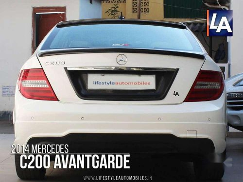 Used Mercedes Benz C-Class 2014 AT for sale in Kolkata