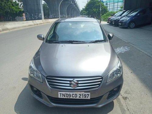 Used Maruti Suzuki Ciaz 2016 MT for sale in Chennai
