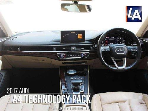 Used Audi A4 2.0 TDI 2017 AT for sale in Kolkata