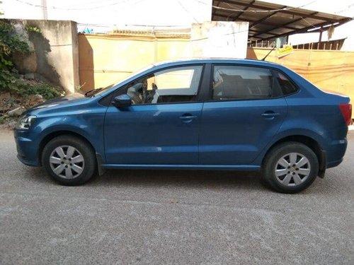 Used 2018 Volkswagen Ameo MT for sale in Hyderabad