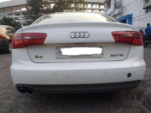 Used Audi A6 2.0 TDI 2013 AT for sale in Kolkata