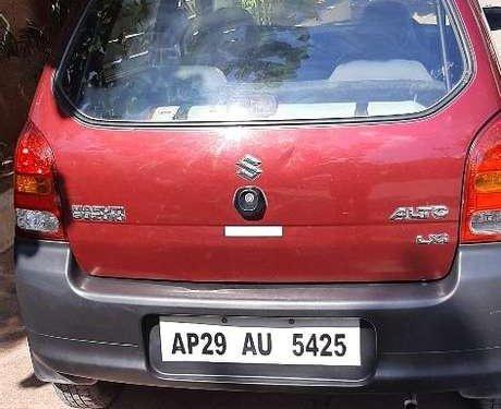 Used 2012 Maruti Suzuki Alto MT in Hyderabad