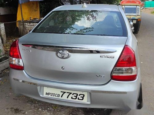 Used Toyota Etios VD 2011 MT for sale in Bhopal