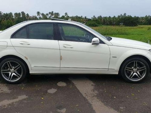 Used Mercedes Benz C-Class 2010 AT for sale in Thrissur