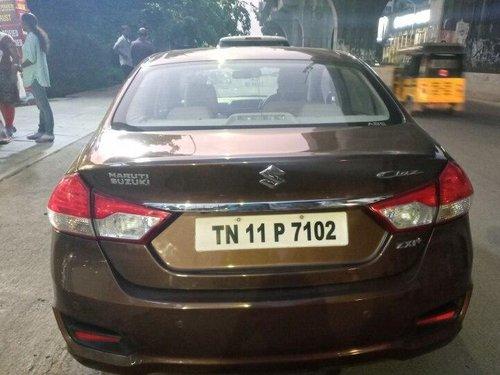 Maruti Suzuki Ciaz ZXi Plus 2015 MT for sale in Chennai