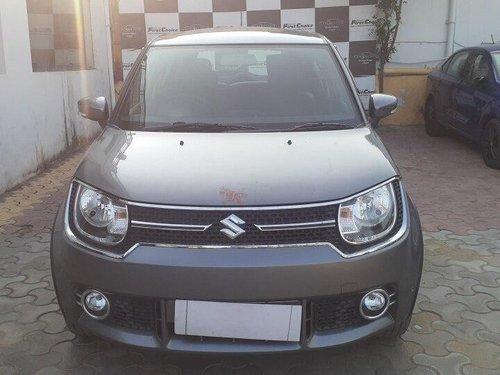 Used Maruti Suzuki Ignis 2018 AT for sale in Jaipur