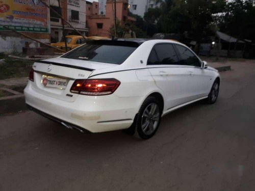 Used 2016 Mercedes Benz E Class AT for sale in Kolkata