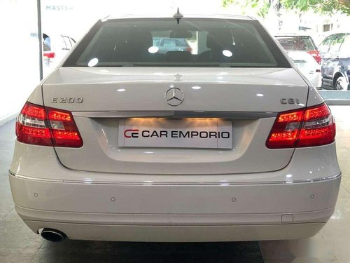 Used Mercedes Benz E Class 2011 AT for sale in Hyderabad