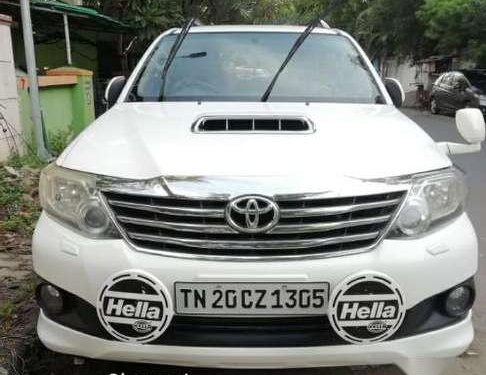 Toyota Fortuner 2012 MT for sale in Chennai-5