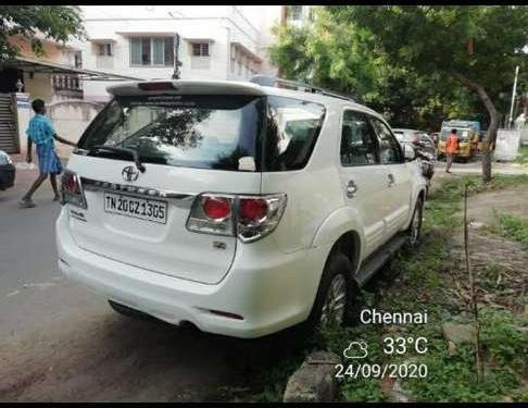 Toyota Fortuner 2012 MT for sale in Chennai-6