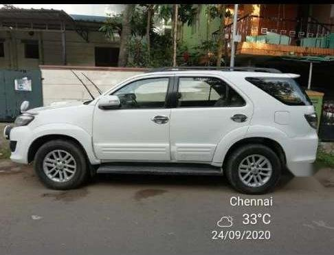 Toyota Fortuner 2012 MT for sale in Chennai-4