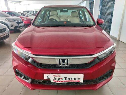2018 Honda Amaze S CVT Petrol AT for sale in Bangalore