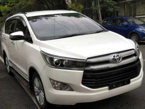 Used 2019 Toyota Innova Crysta 2.4 ZX MT in Bangalore