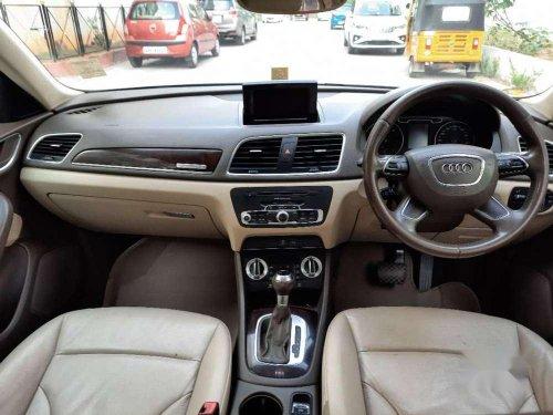 2013 Audi Q3 2.0 TDI Quattro Premium Plus AT in Hyderabad