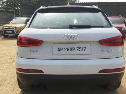 Audi Q3 2.0 TDI Quattro 2012 AT for sale in Hyderabad